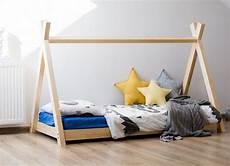 lit tipi enfant ᐅ lit enfant tipi indien 90x190 miky lit en bois massif