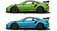 2019 porsche gt3 rs 2019 porsche 911 gt3 rs color options