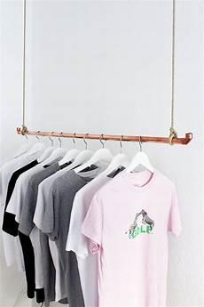 kleiderständer selber machen diy kleiderstange aus kupferrohr selber bauen diy