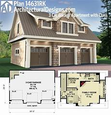 carriage house garage apartment plans plan 14631rk 3 car garage apartment with class your