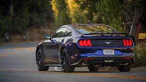 2018 Ford Mustang EcoBoost Review Magnetic Suspension Is