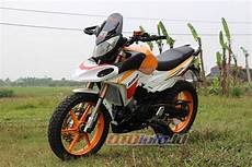Cs1 Supermoto by Modifikasi Honda Cs1 2008 Purwokerto Supermoto Dakar