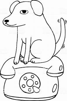 malvorlage hund einfach ausmalbilder fur euch