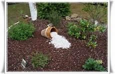 idee deco jardin gravier 36208 d 233 co en gravillons de quartz blanc 7 mai 2011 la guillaumette