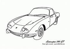 Lamborghini Coloring Pages To Print  Home