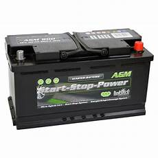 Intact Start Stop Power Agm900 Agm Autobatterie 12v 90ah