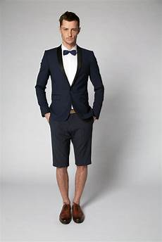 the summer version of the tuxedo for evening cocktails and