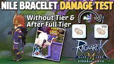 Tier Malvorlagen Ragnarok Mobile 8 Tier 10 Nile Bracelet Damage Test Ragnarok