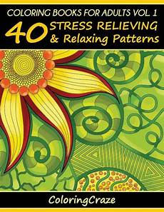 coloring books for adults volume 1 40 stress relieving