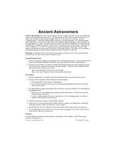 ancient astronomers printable 3rd 5th grade