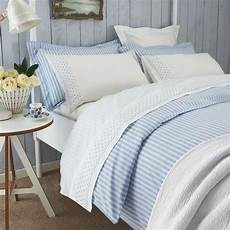 luxury blue white striped duvet covers sanderson bedding at bedeck home blue bedroom