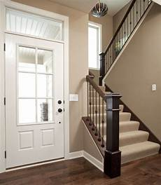 the neutral paint color goes great with and white trim valspar iced chocolate