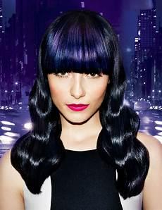 dark midnight blue hair midnight blue luxe blur haircolor redken