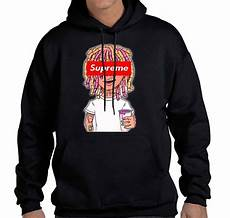 supreme hoodies lil supreme hoodie sweatshirt redzila