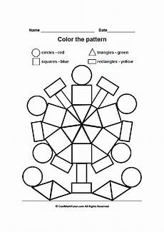 colors shapes worksheets 12808 printable color by shape worksheet for preschool color by number for adults and children