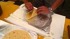 Wraps Richtig Rollen - wie falte ich einen burrito wrap