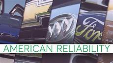 2017 most reliable american cars consumer reports youtube