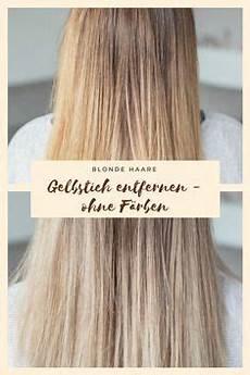 gelbstich haare entfernen hausmittel nat 252 rlich blondieren 4 hausmittel haushaltstips haare