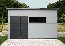 Gartenhaus Flachdach Grau - gro 223 es holz gartenhaus gartana galerie