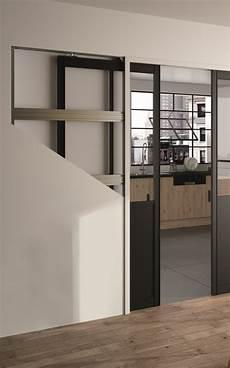 pose porte coulissante a galandage dressing porte placard sogal mod 232 le de porte