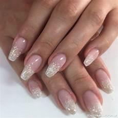 rosa nägel mit glitzer nail design ideas nails womens hair style