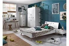 meuble chambre ado chambre ado moderne blanche et bois pour chambre enfant ado