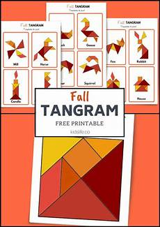 Tangram Kinder Malvorlagen Gratis Fall Tangram 12 Free Downloadable Patterns With Images