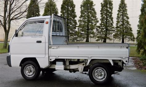 1990 Suzuki Carry 660cc 4wd (rhd) Kei Truck For Sale
