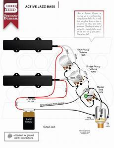 active jazz bass wiring diagram neck active jazz bass seymour duncan