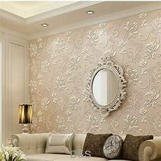 pink 3d non woven wallpaper roll for living room bedroom