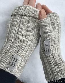 handschuhe stricken ohne finger turboschnelle handstulpen mit anleitung turbofast mittens