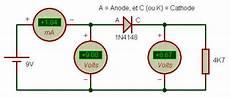 cause chute de tension 201 lectronique les diodes