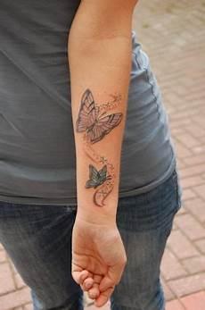 Schmetterling Arm - pin neumann auf unterarm