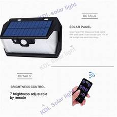 Bakeey 800lm 53led Solar Remote by 55 Led 900lm Solar Light Remote 270 Degree