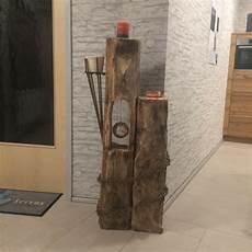 Vintage Gartendeko Deko Holzskulptur Aus Altholz Objekt