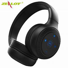 zealot b20 bluetooth headphones with hd sound bass stereo wireless headphones with mic for