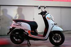 Scoopy New Modif by 87 Modifikasi Scoopy Terkeren Otomotif