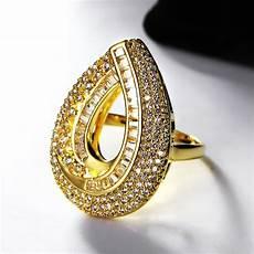 aliexpress com buy water drop design pick 2018 wedding white gold color big cubic