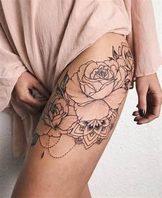 Tattoosideas Tattooart Oberschenkel