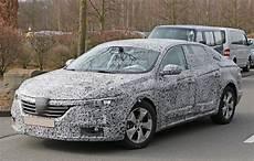 All New Renault Laguna Flagship Sedan Spied For The