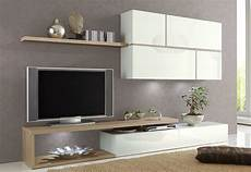 meuble salon blanc ensemble meuble tv blanc laqu 233 et ch 234 ne clair contemporain