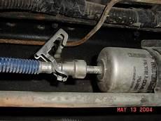 99 fuel filter location fuel filter f150online forums