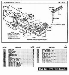86 club car golf cart battery wiring diagram i a 1970 club car caroch when i got it all the batteries