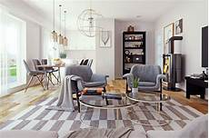 interior visualization scandinavian style interior