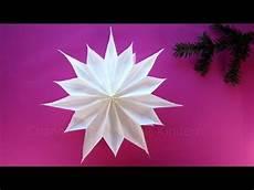 Weihnachtsdeko Basteln Aus Papier - sterne basteln mit papier butterbrott 252 ten
