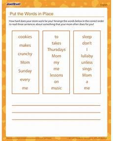 jumpstart grammar worksheets 24838 put the words in place free grammar worksheet for jumpstart