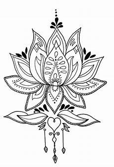 Lotus Flower Mandala By Me Lotus Flower