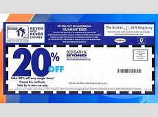 20% coupon bath beyond printable