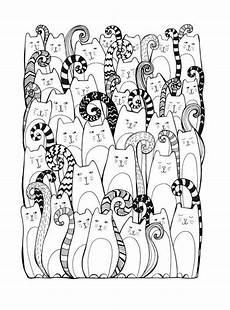 Malvorlagen Erwachsene Katzen Ausmalbilder Katzen Kostenlose Malvorlagen Zum