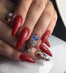 cute red nails designs for trendy women cute red nails
